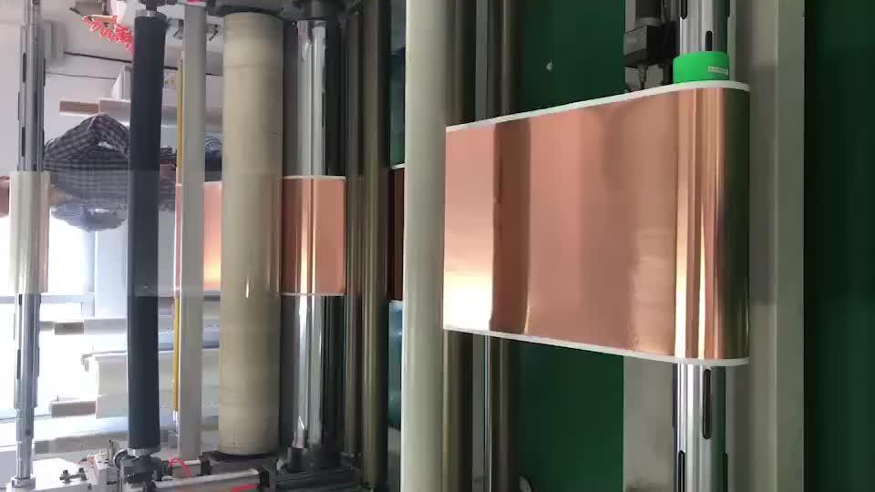 Haute pureté de cuivre adhésive mylar ruban adhésif pour chaleur transferation