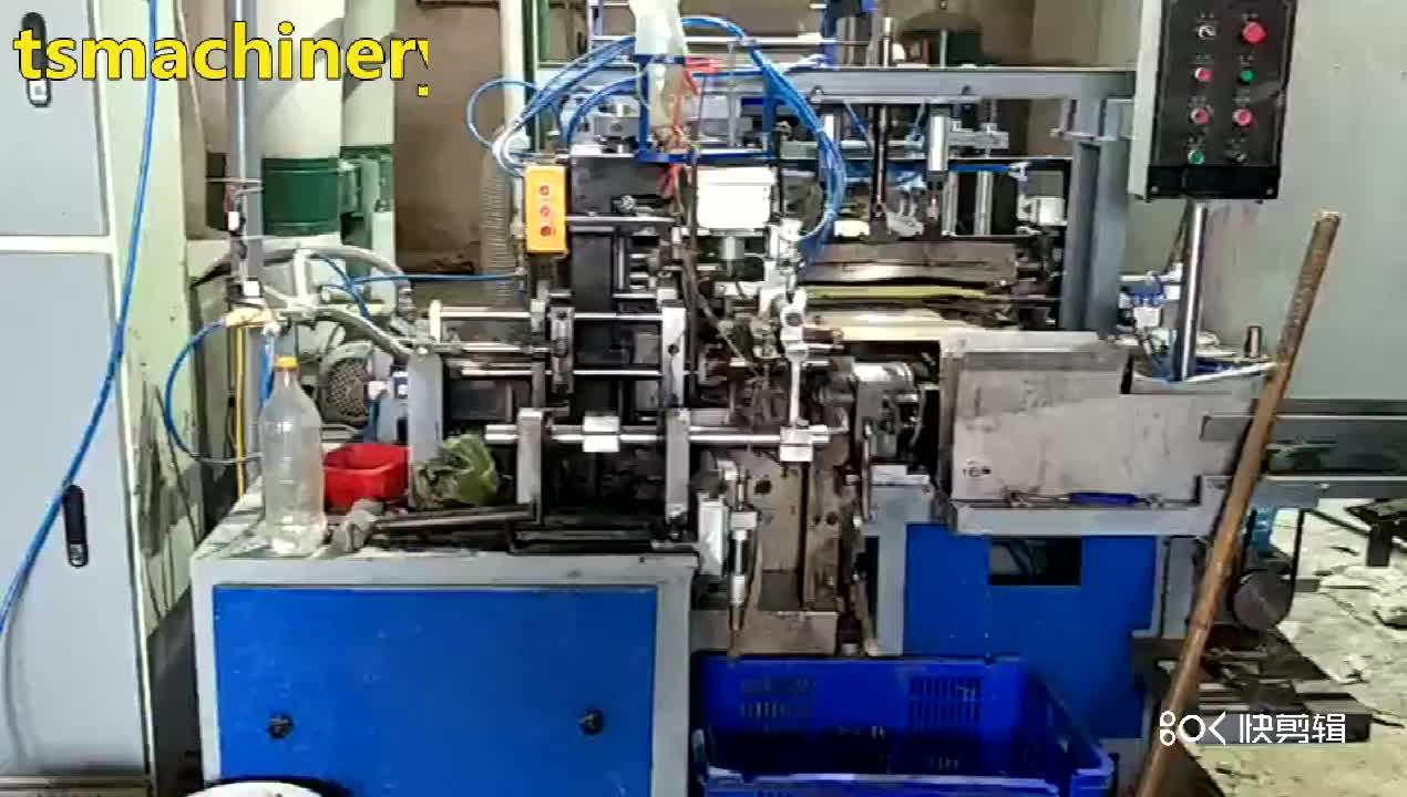 Yüksek hızlı tam otomatik kağıt külah yapma makinesi tekstil