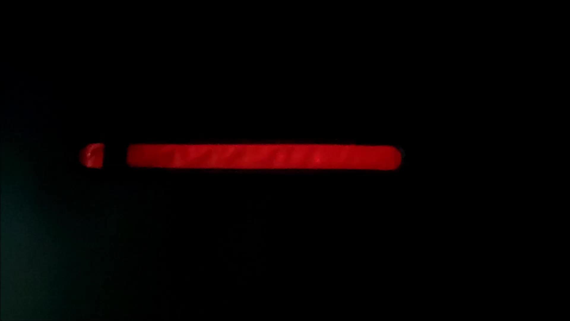Aangepaste Slap Reflecterende Led Armband Glow In The Dark Running Led Slap Armband
