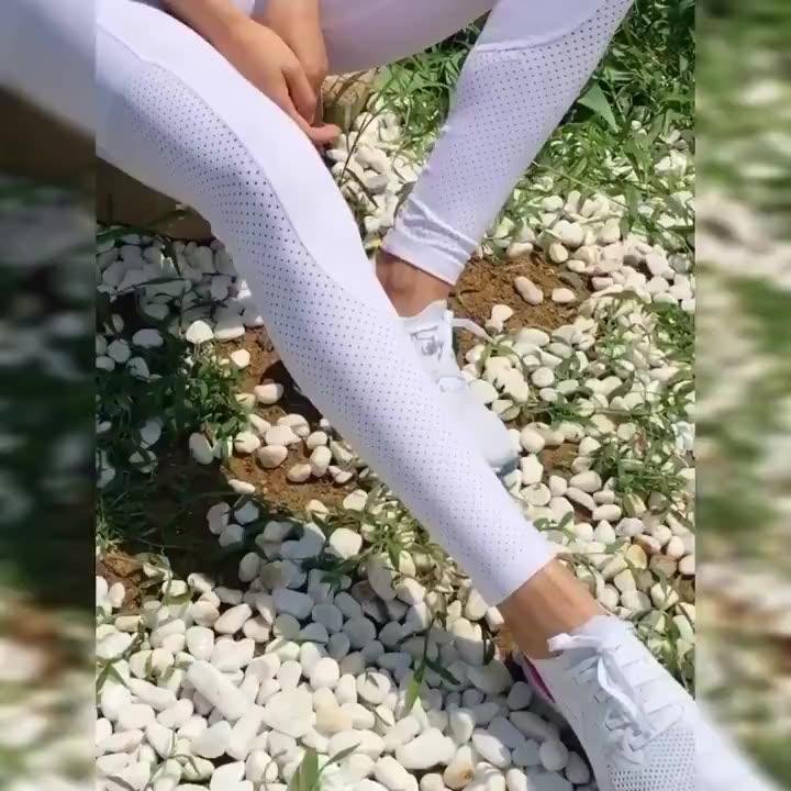 Hohe Taille Sport Workout Gym Tragen Nahtlose Leggings für Frauen 2020 Sexy Yoga Hosen Mit Taschen
