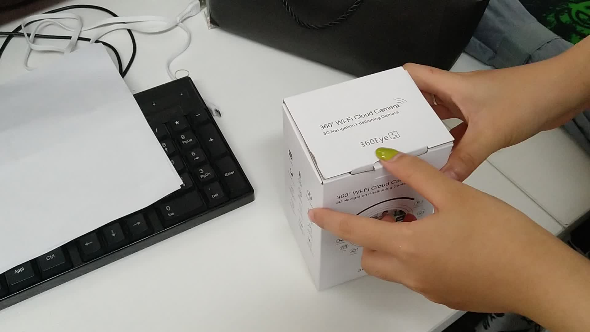 Hỗ Trợ Ứng Dụng 1080 P Hệ Thống Camera An Ninh Không Dây Mini CCTV Wifi Ip Camera Với Pin IP Camera BABY MONITOR
