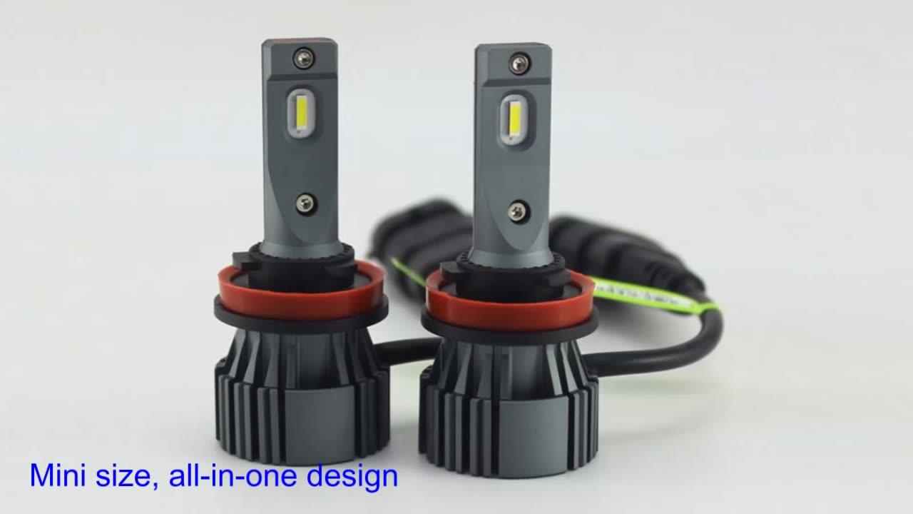 Etclite I6C far H7 H11 otomotiv ampul Canbus far kiti 12V H4 lamba araba Led otomatik lamba kafa ışık araçlar için