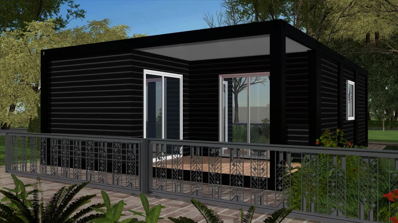 Low Cost Prefab House Villa Container Quotes: European Panelized China Low Price Flat Pack Expandable