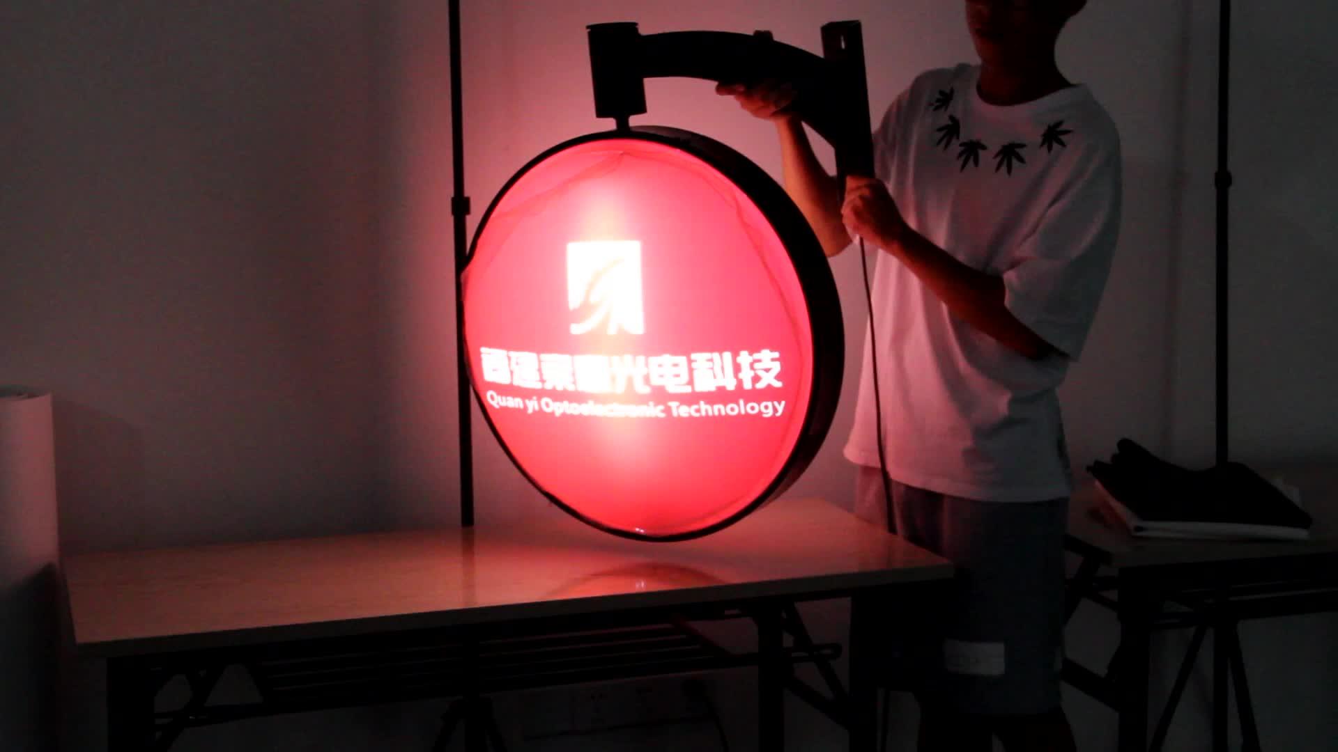Custom Aluminum Freestanding Backlit Led Fabric Advertising Light Box