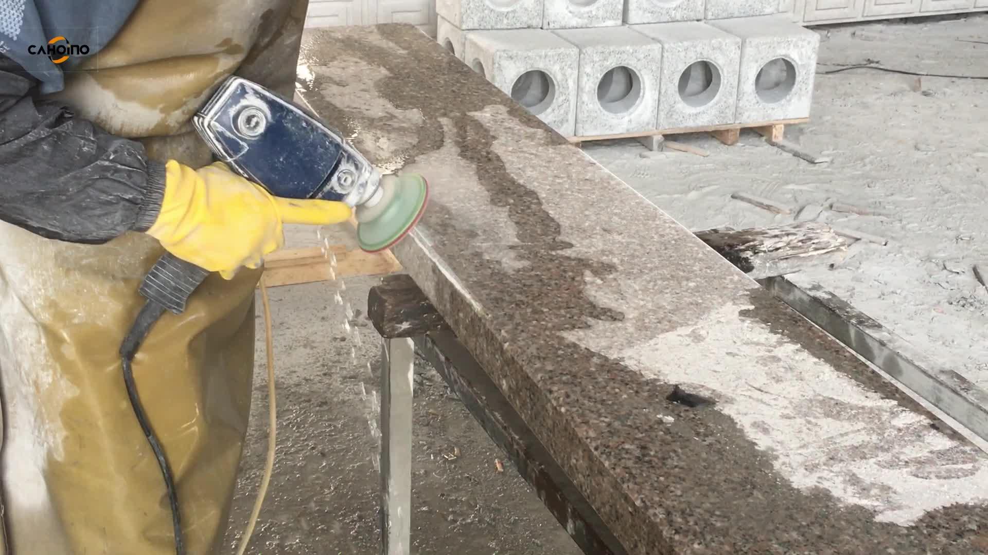 Diamond Abrasive Tools Circular Polishing Pad With Angle Grinder