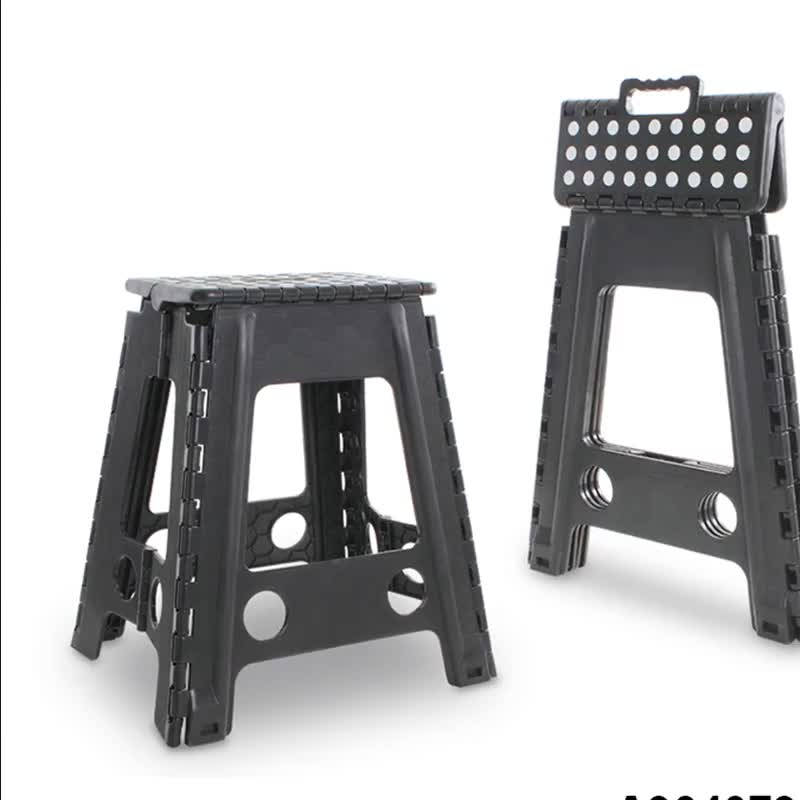 factory price red 45cm tall foldable stool
