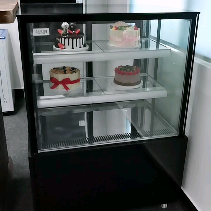 Luxury Marble Salad Bar display counter commercial refrigerator counter top salad bar cabinet,china manufacturer