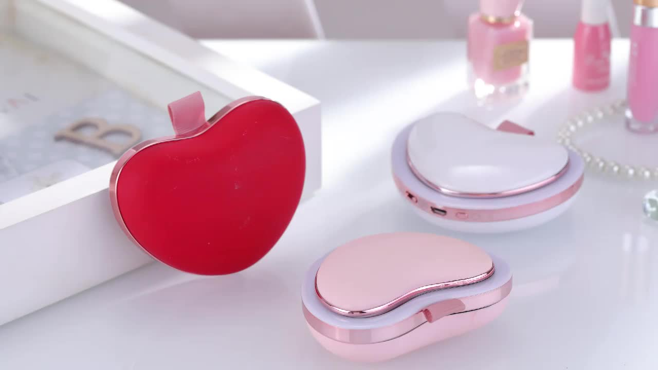 New Product multi-function Power bank 8s fast heating hand warmer