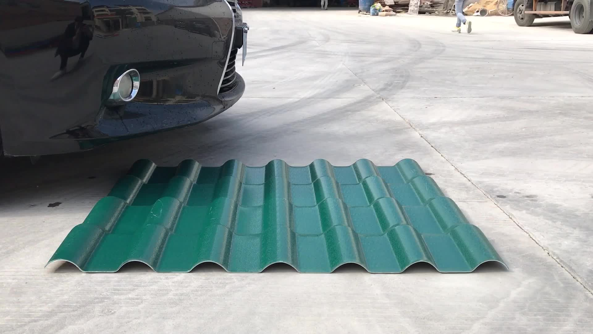 Building Materials Light Weight Pvc Plastic Corrugated