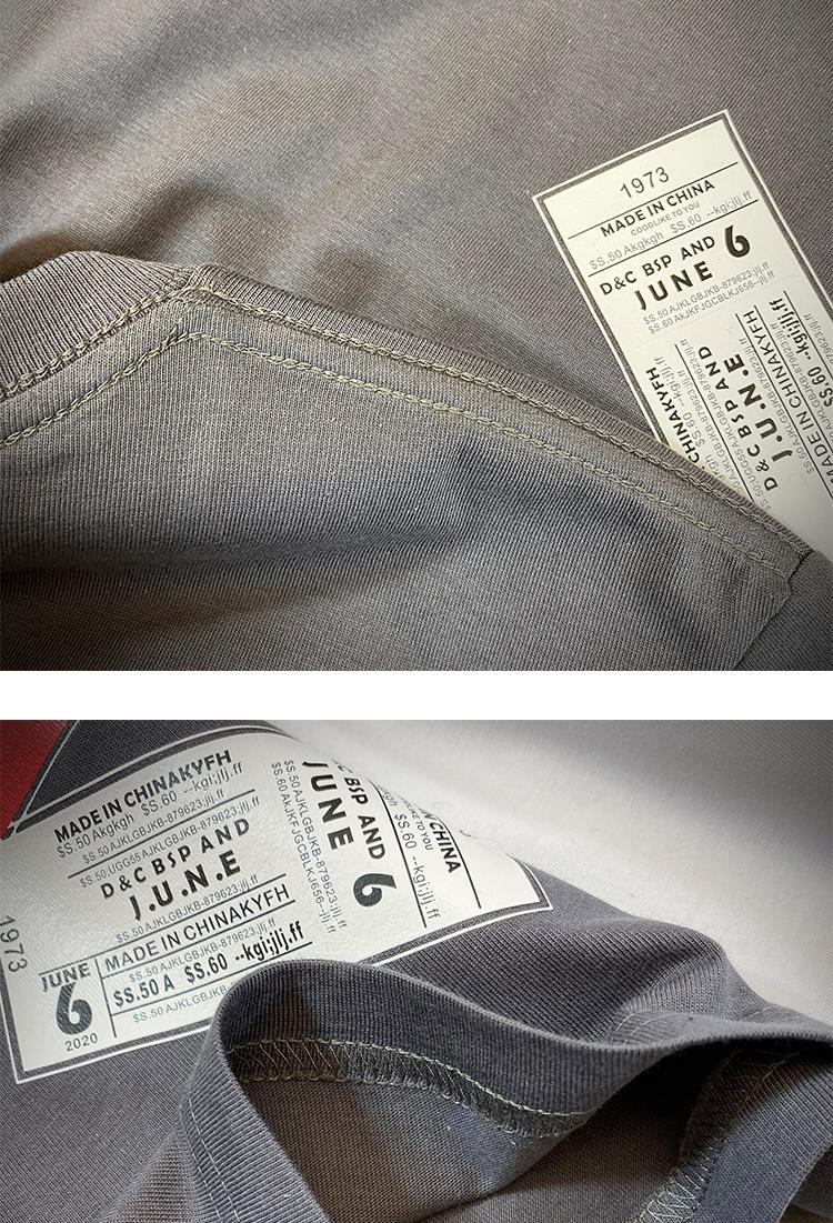 A316-t843-35 19夏短袖T恤 打底衫 大码短上衣运动衫 爆 平铺