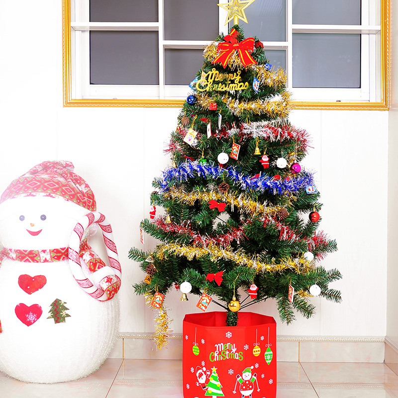 people yin christmas supplies 1 5 m encryption christmas tree set christmas luxury package 60cm christmas