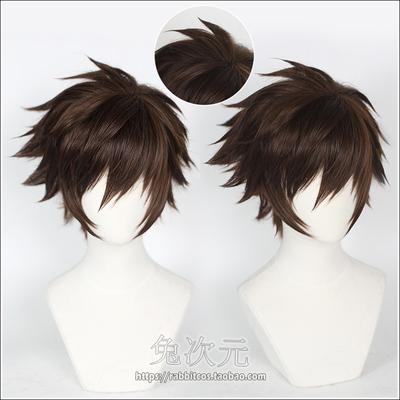 taobao agent 【Rabbit dimension】King of Glory Lan cos Wig Character Model CG Target Weidu Assassin