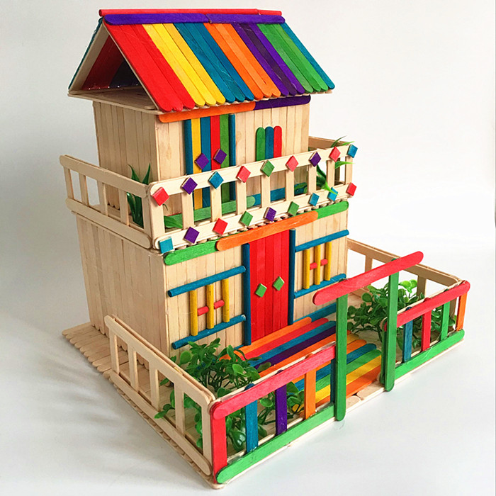 Ice Cream Stick Wood Stick Wood Strip Diy Handmade House