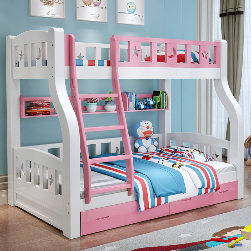 Usd 987 34 Full Solid Wood Bunk Bunk Bed Bunk Bed Adult Two Bed Boy