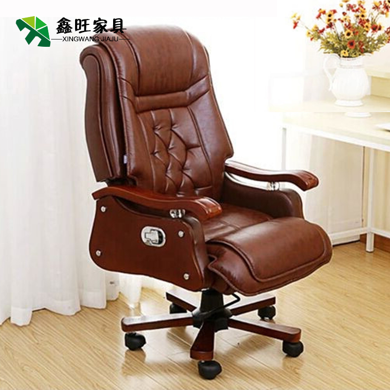 Special offer family can lie cowhide leather Swivel chair boss Chair office chair computer Chair CEO & USD 249.91] Special offer family can lie cowhide leather Swivel ...