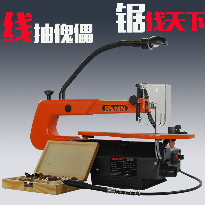 USD 133.13] La flower saw wire saw machine desktop jigsaw desktop ...
