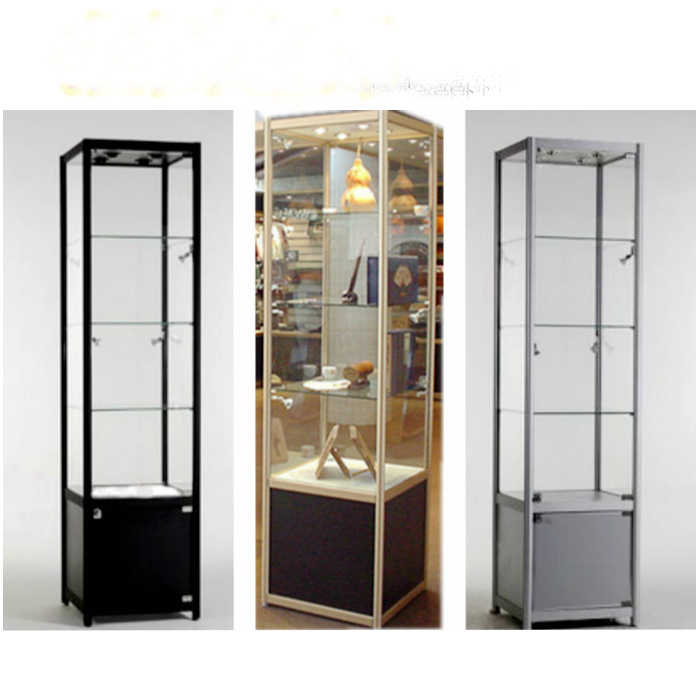 Student Prize Showcase Handmade Jewelry Shelf Gift Model Showcase Glass  Perfume Cosmetic Display Cabinet