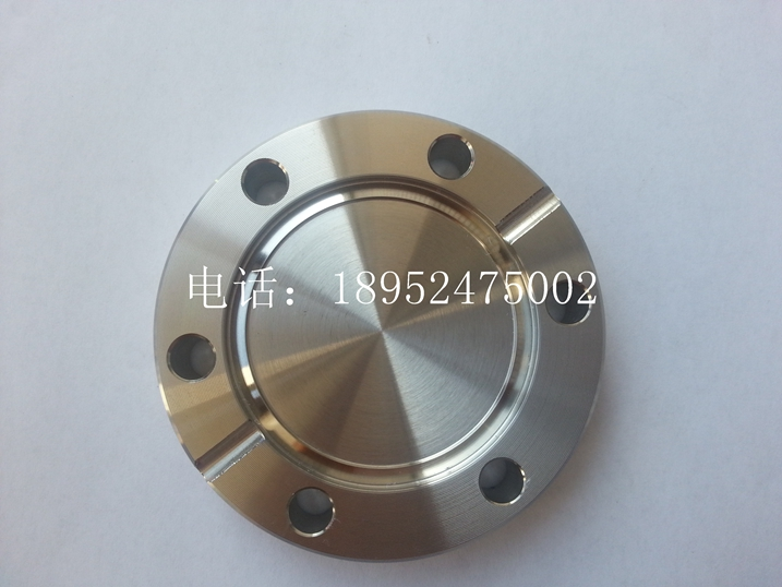 CF blind flange / ultra high vacuum flange / CF flange / CF16 / CF25 / CF35  / CF50 / CF100