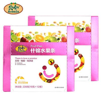 【两盒装】宝宝辅食零食水果条2盒装