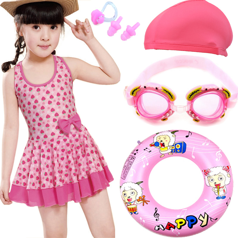 e47e70083f 3 girls 4 long sleeves 5 sunscreen 6 split swimsuit 7 girls 8 fashion 9  swimwear