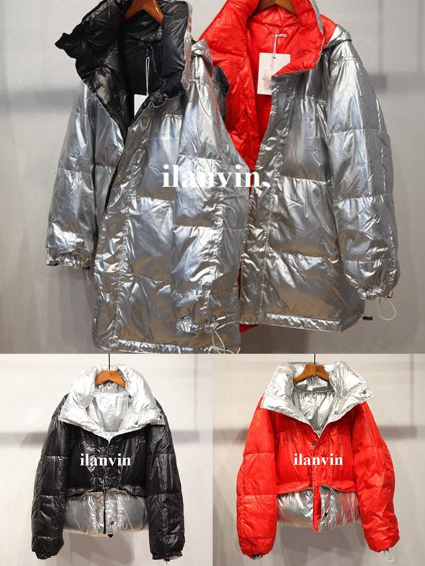 Европейские станции зимний новый швейцарский дикий My sister&me H1861 пальто смешанные цвета личность долго куртка 581999943499