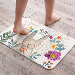 硅藻土脚垫硅藻泥卫浴地垫卫生间吸水垫防滑速干脚垫流氓兔子图垫
