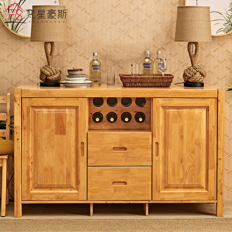 Full Solid Wood Cypress Side Cabinet