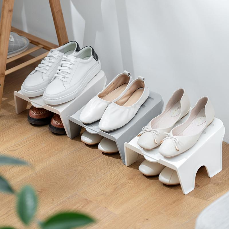 Giá để giày đơn giản lưu trữ tạo tác cửa ra vào cửa nhiều lớp cá tính sáng tạo thời trang giá ký túc xá phòng ngủ sinh viên đại học - Kệ