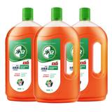 美国FDA认证# 净安 家用杀菌清洁消毒液1L*3瓶 券后49.9元包邮  (74.9-25)