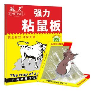 超强力粘鼠板抓粘大老鼠贴驱胶药捕鼠老鼠神器克星正品家用一窝端