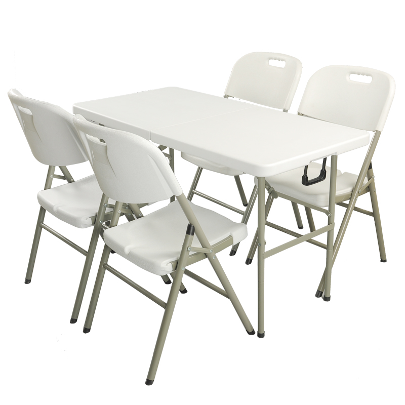 Folding Table Outdoor Long Table Simple Desk Folding Dining Table And  Chairs Plastic Table Booth Portable Conference Table