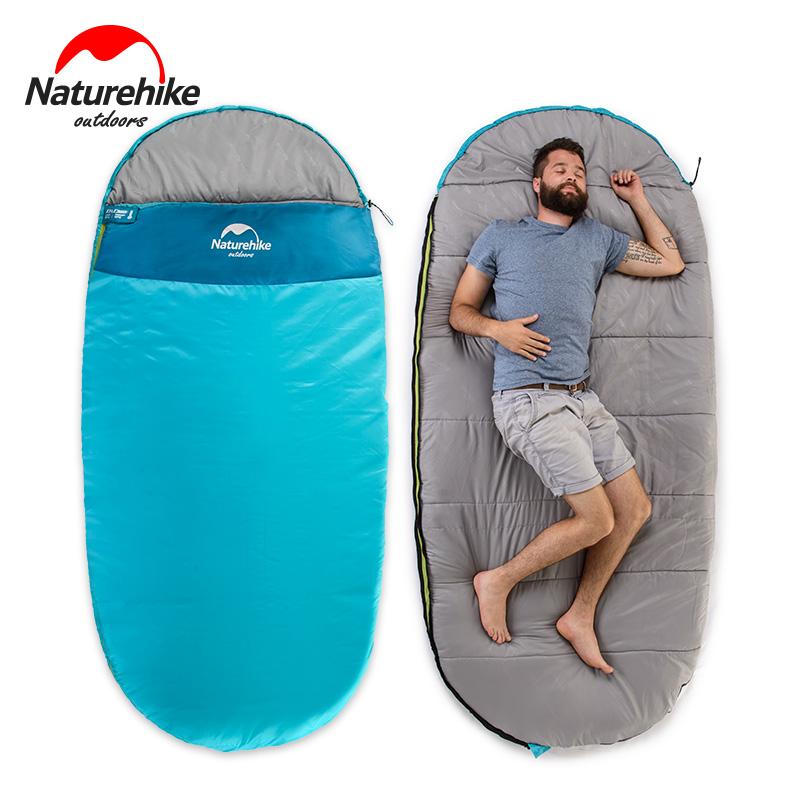 NH шаг пассажир спальный мешок для взрослых увеличение цены ширина комнатный полдень остальные на открытом воздухе кемпинг весна, лето, осень четыре сезона тонкая модель путешествие портативный