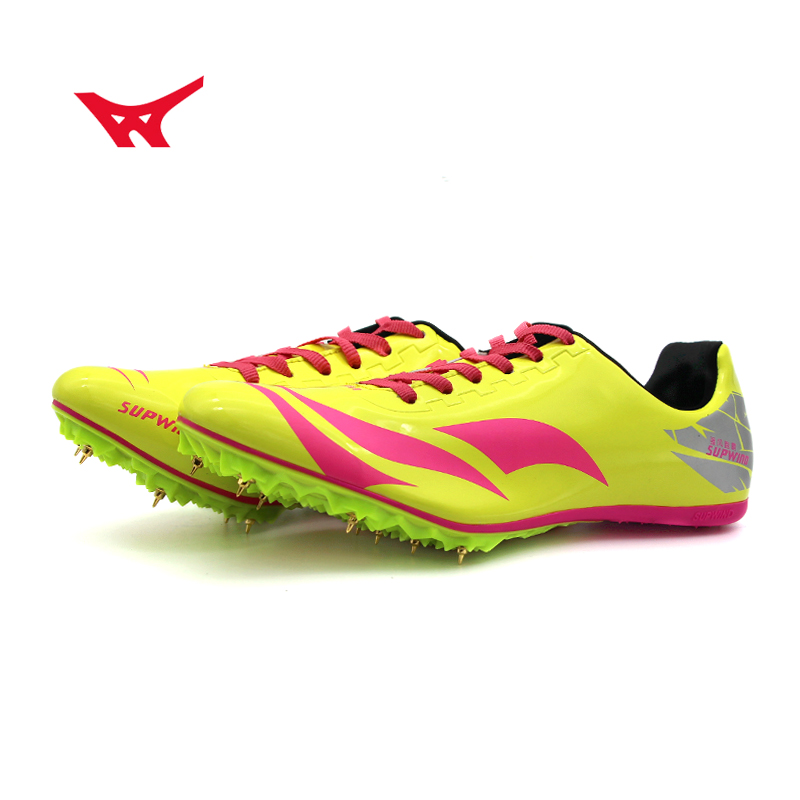 d06c48be6 Sprint spike shoes men and women track and field shoes students test  running shoes competition long ...