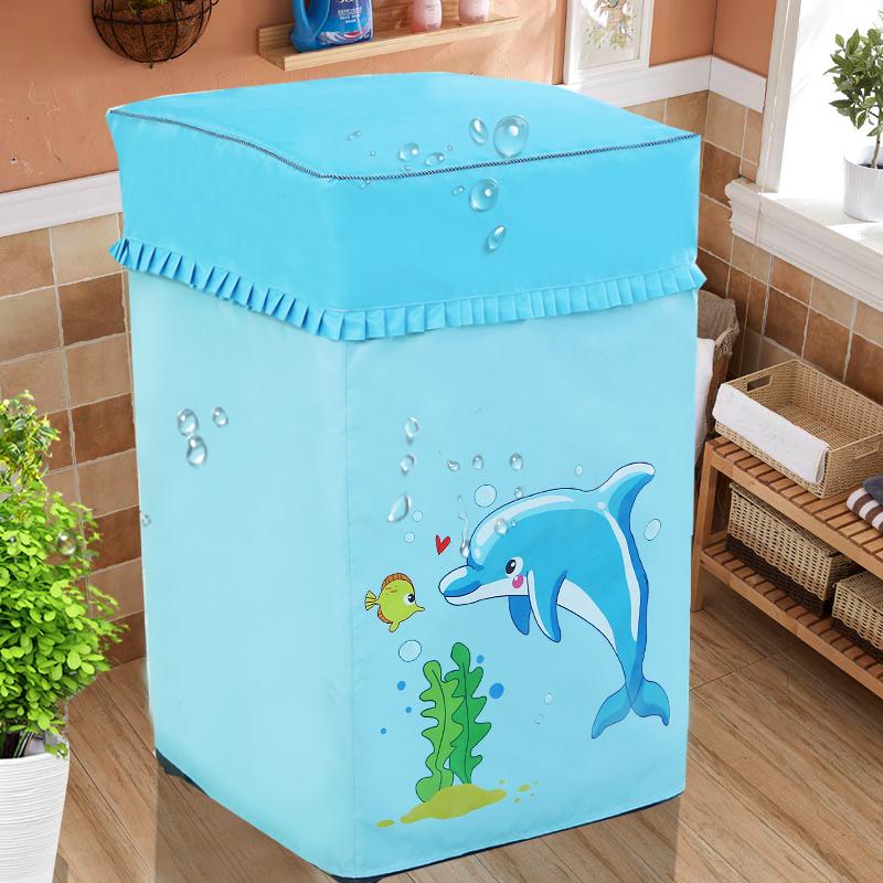 洗衣机罩海尔松下小天鹅三洋三星全自动波轮上开单缸防水防晒通用