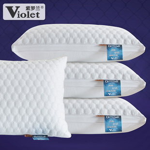 Anti mite and antibacterial pillow core cotton down Velvet Adult pillow