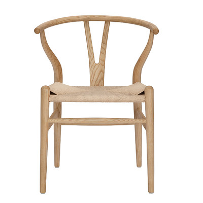 Y Chair Washing Big Promoting Northern European style New Chinese casual back armrests solid wood dining chair book to discuss the balcony chair