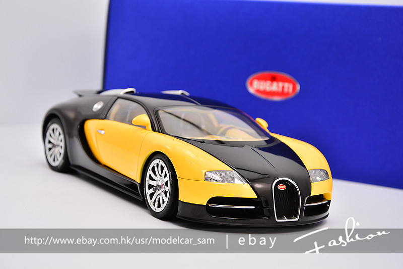 autoart 1 18 bugatti veyron ebay. Black Bedroom Furniture Sets. Home Design Ideas