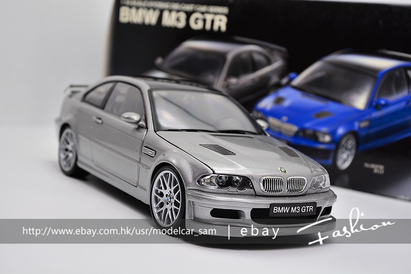 Details About Kyosho 1 18 Bmw M3 Gtr E46