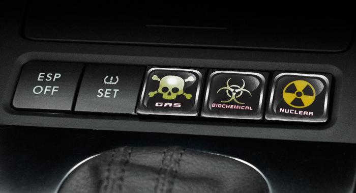 貼紙 機車貼紙 個性汽車中控按鍵貼 中控臺按鈕裝飾貼紙 汽車裝飾防水防曬車貼 優品百貨