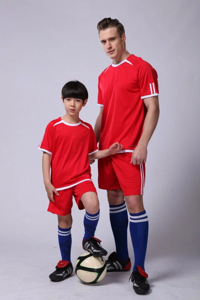 0a518dedfa1 Boy sports training suit primary school children's summer jersey team ...