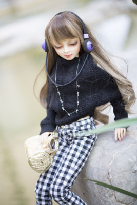 taobao agent 【endles】bjd/sd/dd/3 points 4 points msd and other baby clothes joint doll clothes sweater pants