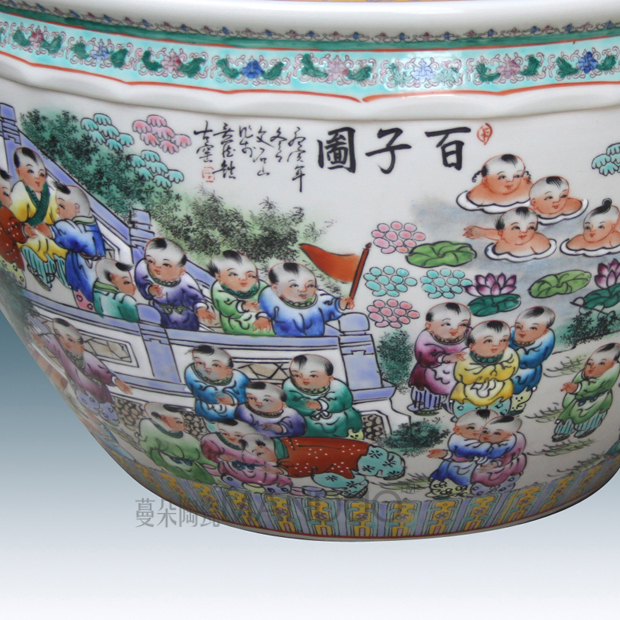 Pastel VAT sitting room adornment that occupy the home furnishing articles the ancient philosophers figure cylinder bottles of exquisite vase of jingdezhen ceramics