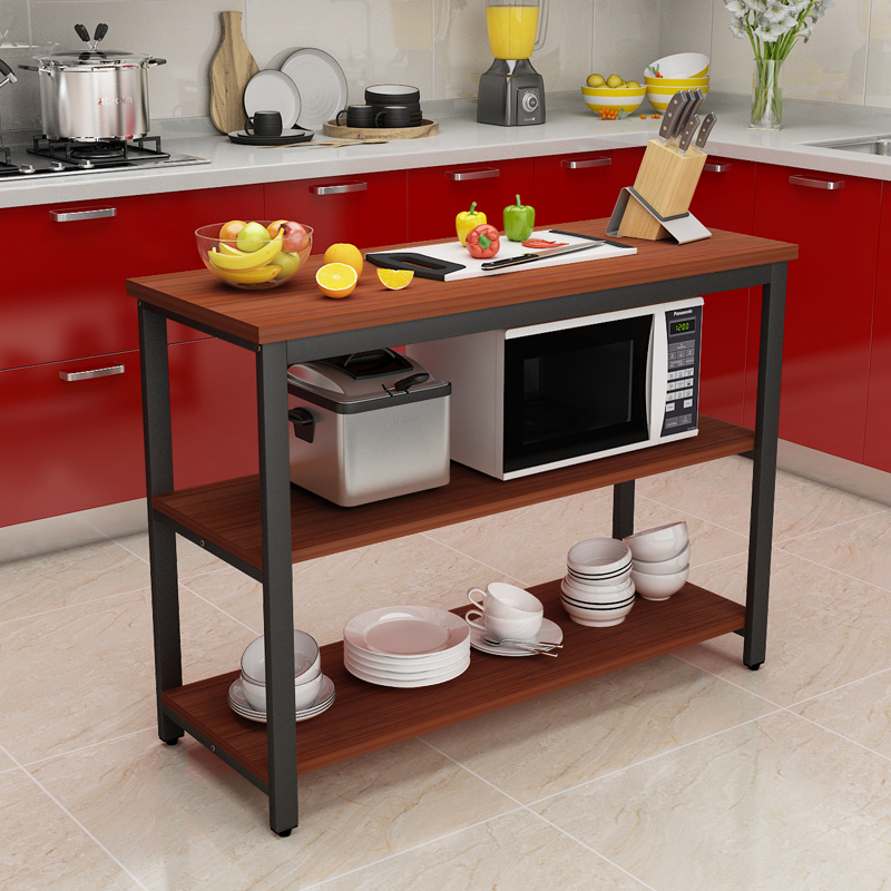 USD 28.27] Kitchen cutting table small table dining table ...