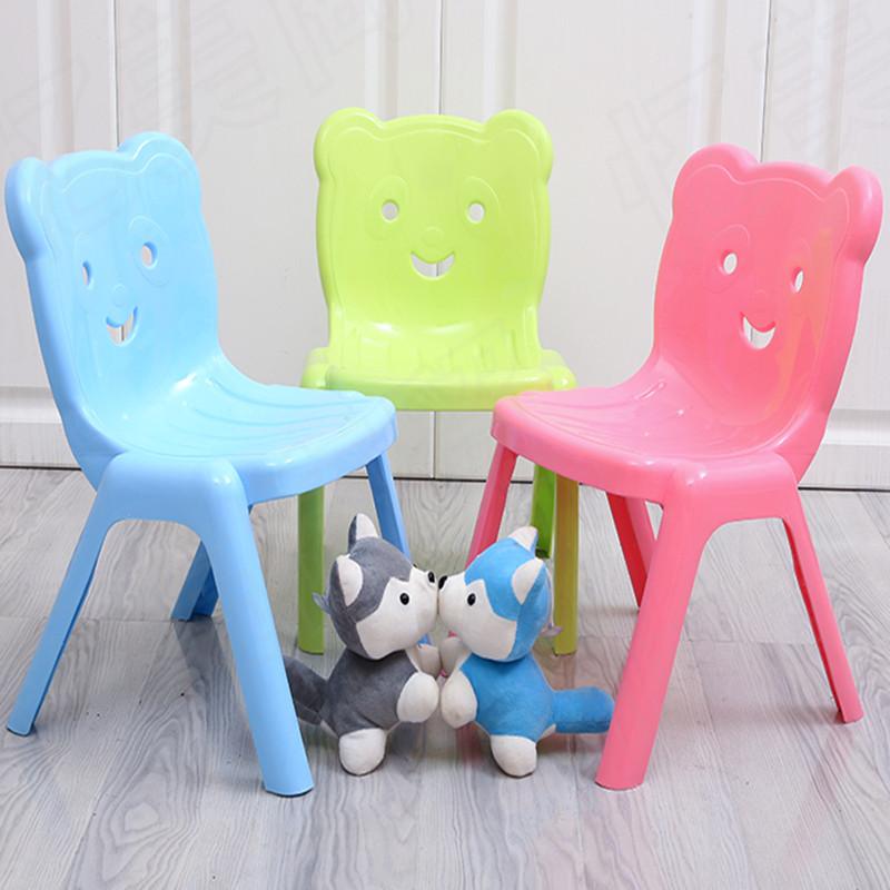 13.80元包邮儿童创意可叠加防滑加厚靠背椅