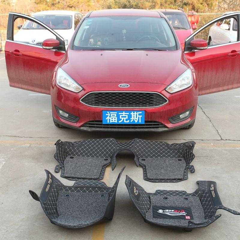 福特经典福克斯脚垫2012新12款两厢13三厢全包围18汽车2019专用19