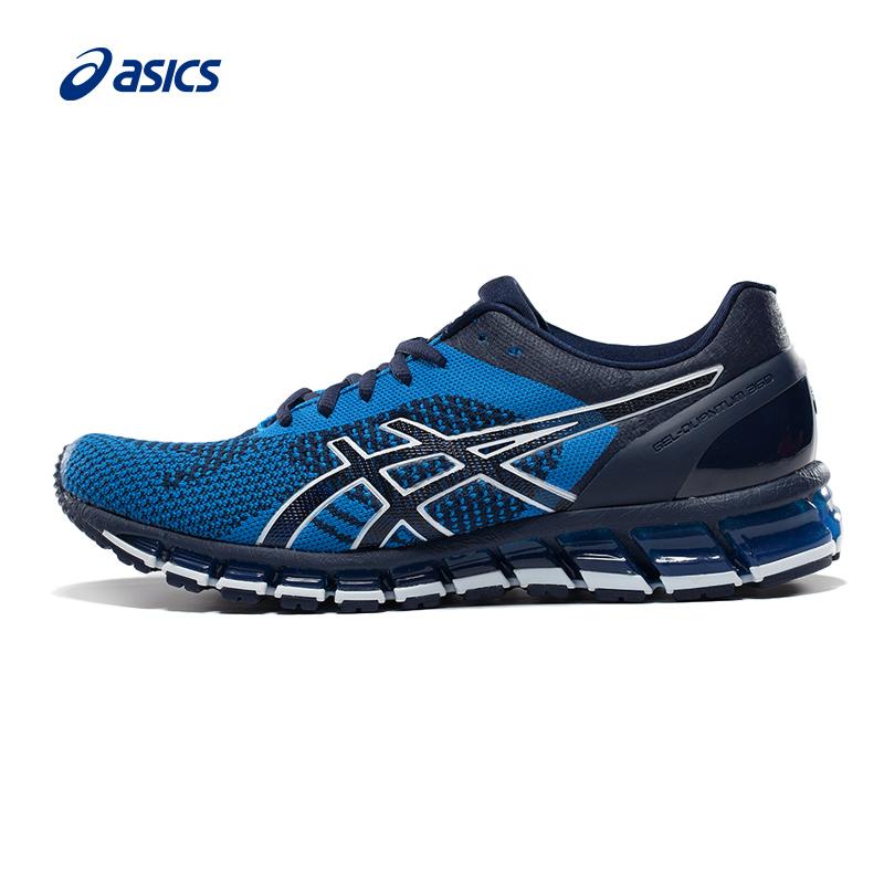 eaa94f8196cb1 ASICS Asser cushioning running shoes GEL-QUANTUM 360 KNIT male T728N-9697