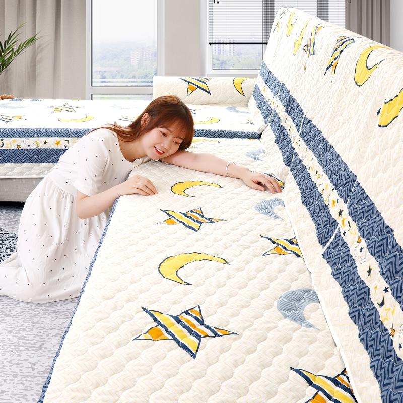 防滑沙发垫简约现代全包非萬能套沙发套坐垫子罩巾布艺四季通用型