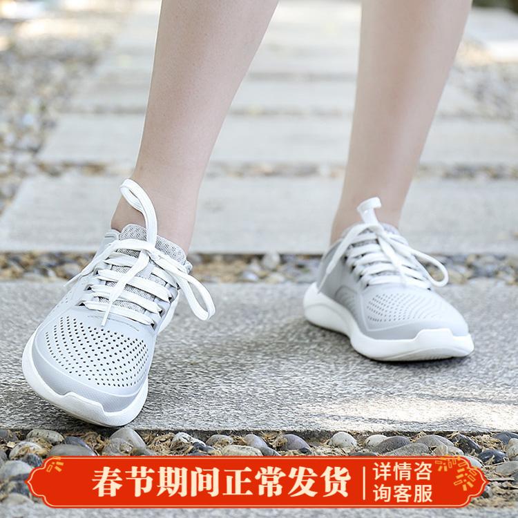 卡骆驰女鞋春季新款v女鞋LiteRide徒步系带鞋轻便休闲鞋205234-101