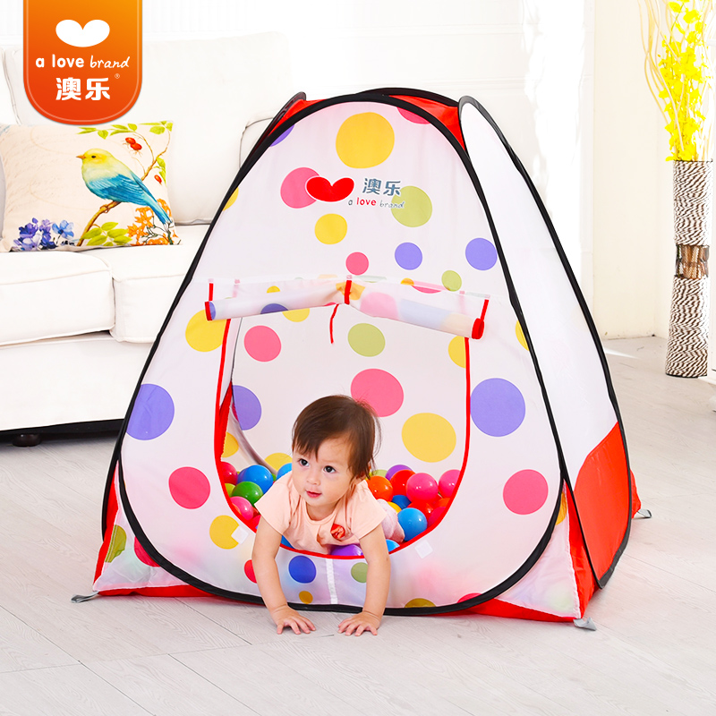 O Music Childrens Tent Ocean Ball Pool One Year Old Baby Birthday Gift Toys 0 1 2 3 Years Playhouse