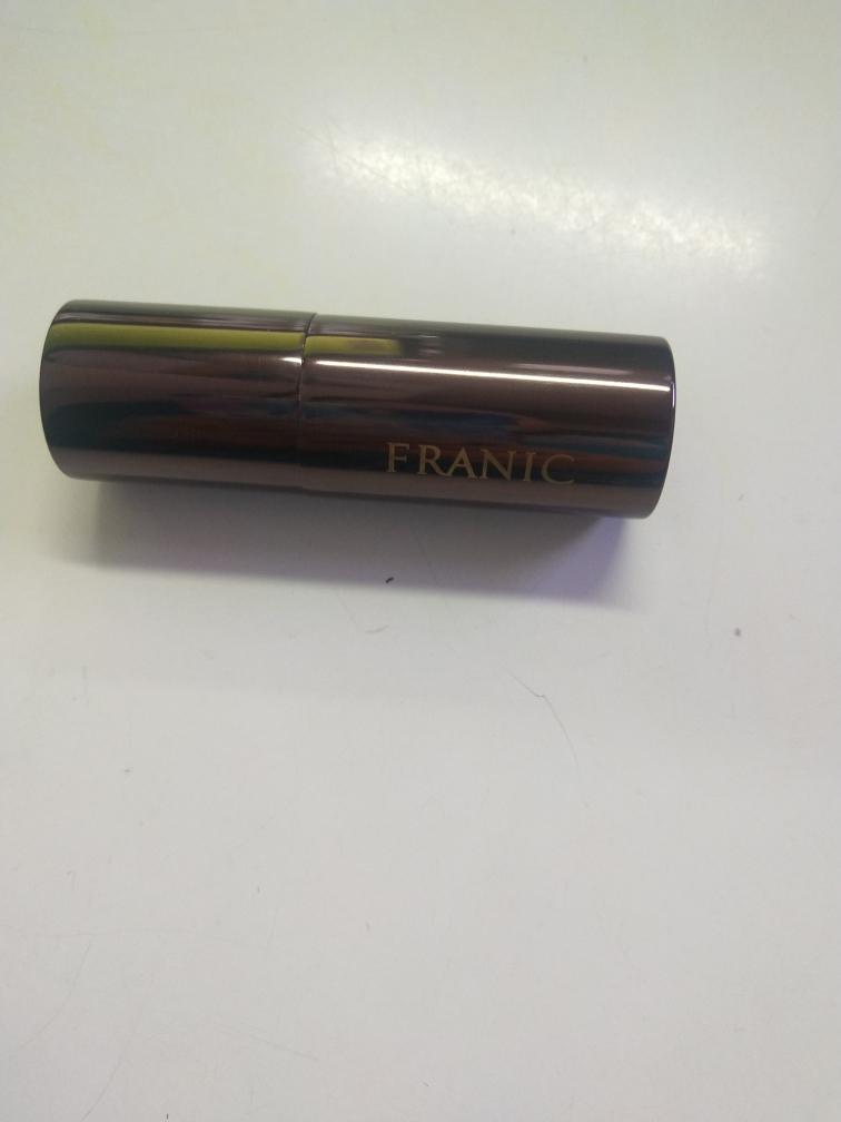法兰琳卡品牌沁染流光系列#R02号色深红色口红试色